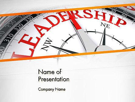 Business Concepts: Leadership Management PowerPoint Template #12979