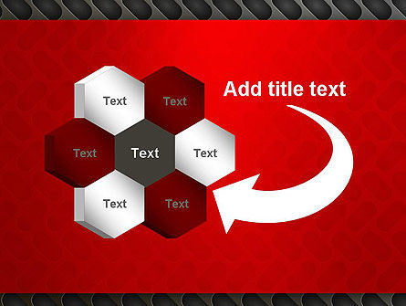 Metal Surface with Vents PowerPoint Template Slide 11