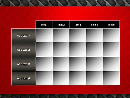 Metal Surface with Vents PowerPoint Template Slide 15