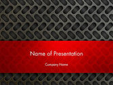 Abstract/Textures: Metal Surface with Vents PowerPoint Template #12981