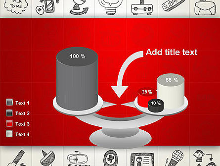 Doodle Icons Background PowerPoint Template Slide 10