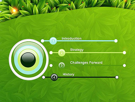 Leaves Background PowerPoint Template, Slide 3, 12984, Nature & Environment — PoweredTemplate.com