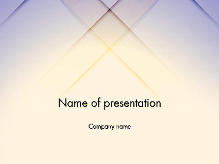 Soft Pastel PowerPoint Template