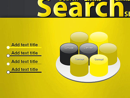 Search Engine Optimization Word Cloud PowerPoint Template Slide 12