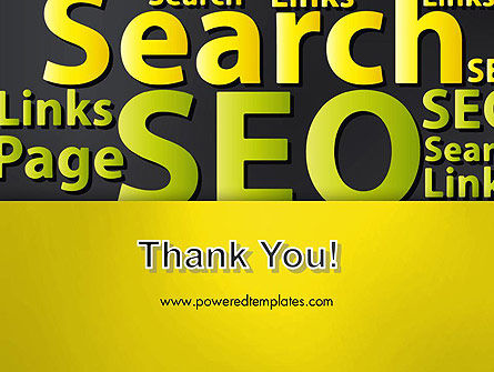 Search Engine Optimization Word Cloud PowerPoint Template Slide 20