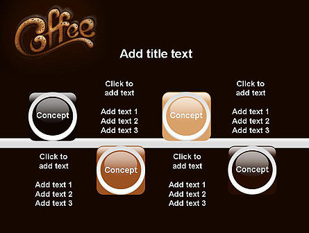 Coffee Aroma PowerPoint Template Slide 18