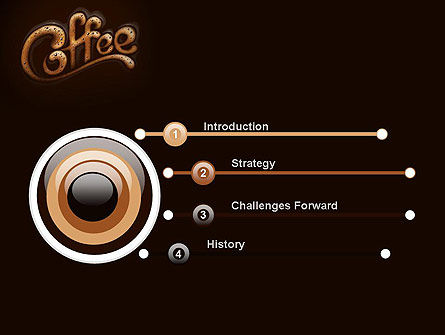 Coffee Aroma PowerPoint Template Slide 3