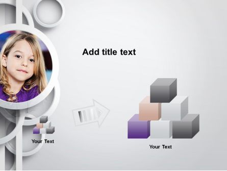 White Circles PowerPoint Template, Slide 3, 12990, People — PoweredTemplate.com
