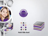 White Circles PowerPoint Template#19