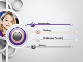 White Circles PowerPoint Template#3