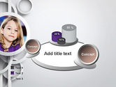 White Circles PowerPoint Template#6