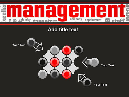 Word Management PowerPoint Template Slide 10