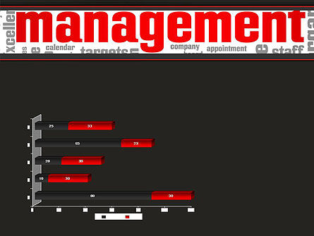 Word Management PowerPoint Template Slide 11