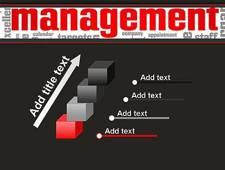 Word Management PowerPoint Template Slide 14