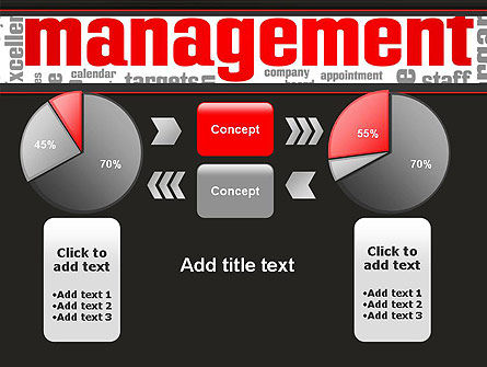 Word Management PowerPoint Template Slide 16