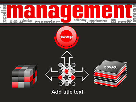 Word Management PowerPoint Template Slide 19