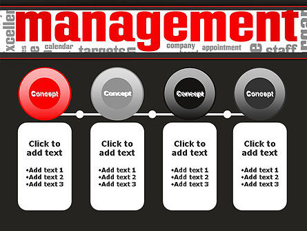 Word Management PowerPoint Template Slide 5
