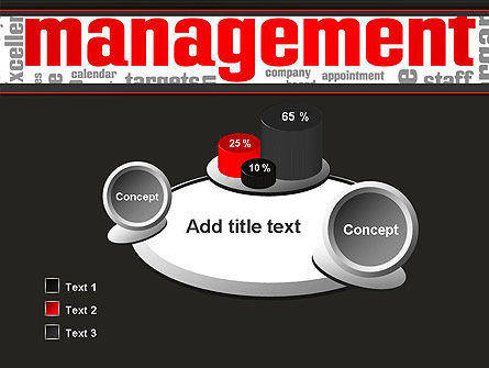 Word Management PowerPoint Template Slide 6
