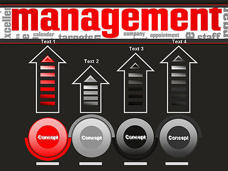 Word Management PowerPoint Template Slide 7