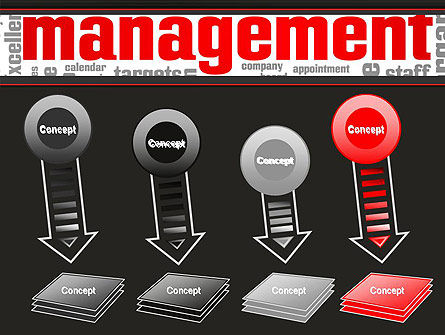 Word Management PowerPoint Template Slide 8