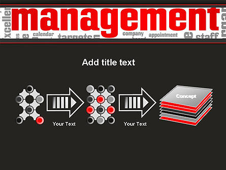 Word Management PowerPoint Template Slide 9
