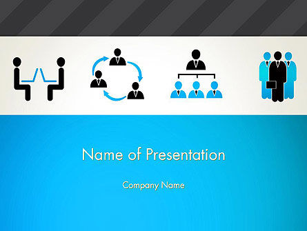 Careers/Industry: Human Resources Icons PowerPoint Template #12993