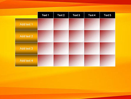 Energetic Orange Background PowerPoint Template Slide 15
