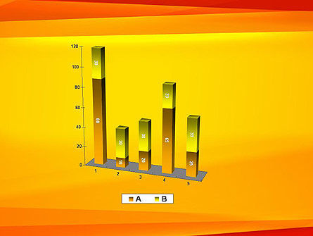 Energetic Orange Background PowerPoint Template Slide 17
