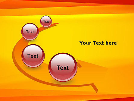 Energetic Orange Background PowerPoint Template Slide 6
