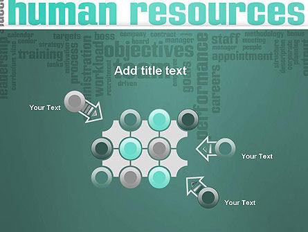 HR Word Cloud PowerPoint Template Slide 10