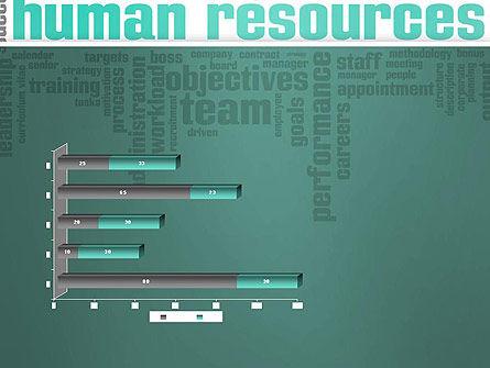 HR Word Cloud PowerPoint Template Slide 11
