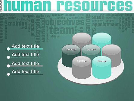 HR Word Cloud PowerPoint Template Slide 12