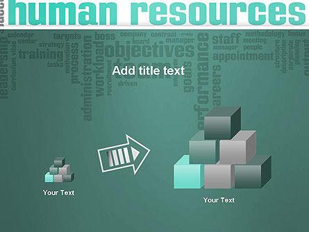 HR Word Cloud PowerPoint Template Slide 13