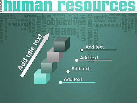 HR Word Cloud PowerPoint Template Slide 14
