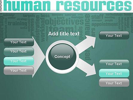 HR Word Cloud PowerPoint Template Slide 15