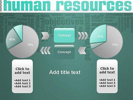 HR Word Cloud PowerPoint Template Slide 16