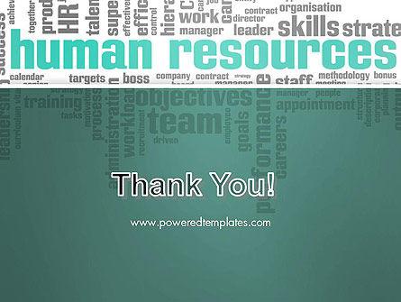 HR Word Cloud PowerPoint Template Slide 20