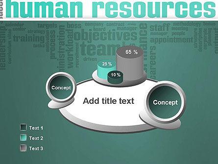 HR Word Cloud PowerPoint Template Slide 6