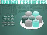 HR Word Cloud PowerPoint Template#12