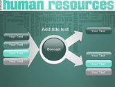 HR Word Cloud PowerPoint Template#15