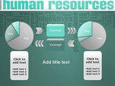 HR Word Cloud PowerPoint Template#16