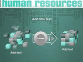 HR Word Cloud PowerPoint Template#17
