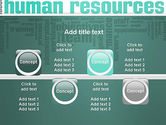 HR Word Cloud PowerPoint Template#18
