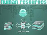 HR Word Cloud PowerPoint Template#19