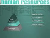 HR Word Cloud PowerPoint Template#4