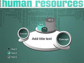 HR Word Cloud PowerPoint Template#6
