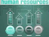 HR Word Cloud PowerPoint Template#7
