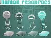 HR Word Cloud PowerPoint Template#8