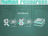 HR Word Cloud PowerPoint Template#9