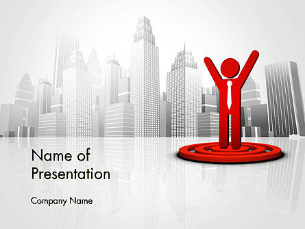Business Winner PowerPoint Template